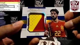 2018 Panini National Treasures Soccer Hobby 4 Box Case Pick Your Team #46