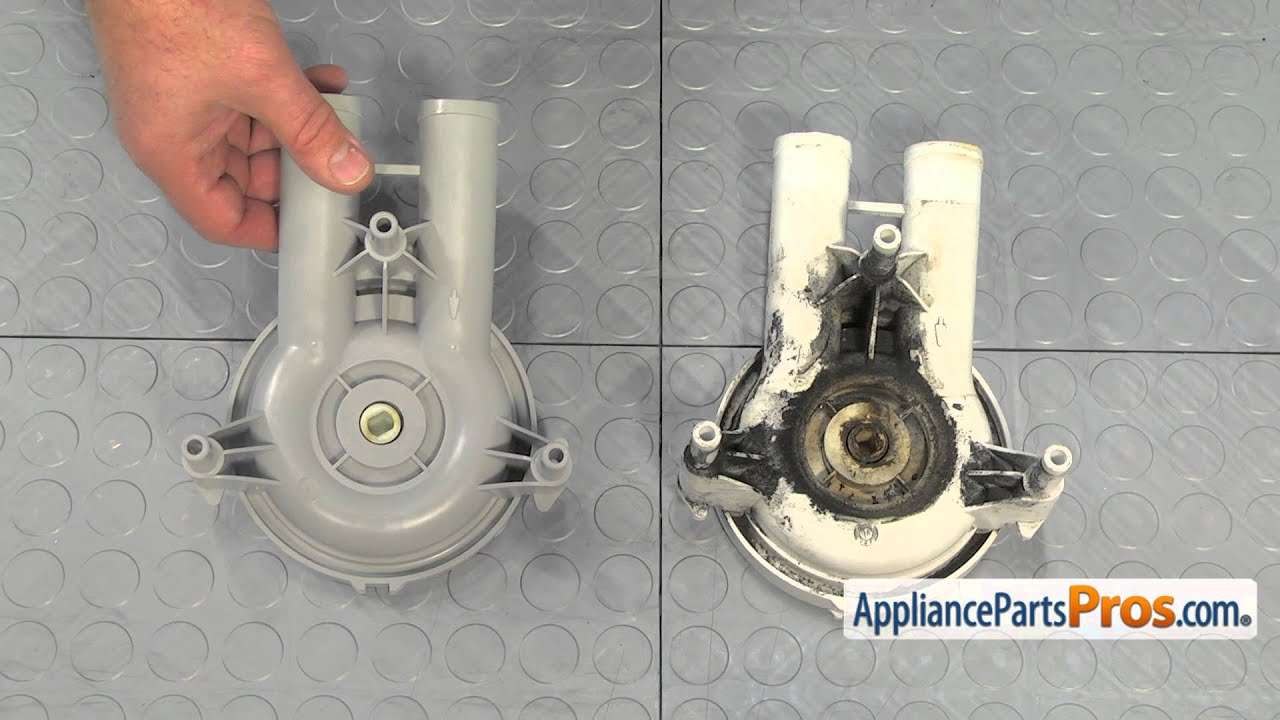Washer Drain Pump Part 27001233 How To Replace Youtube