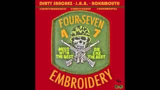 47 Embroidery Freestyle - J.A.B ft. Dirty Sanchez & Rokamouth (AK47) [Prod. By Nico Fazio]