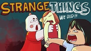 STRANGEST THINGS I did with my COUSINS! (Animation) (ft. Alex Animation Corner  and Haricz SINGING!)