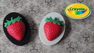 Crayola Model Magic Strawberry Fridge Magnets