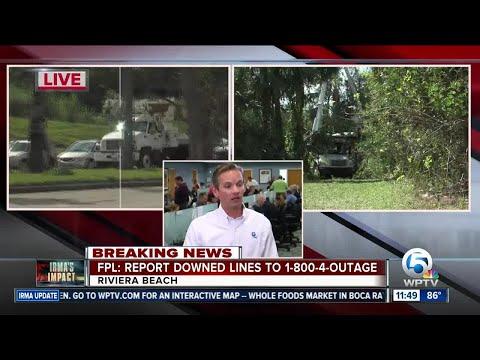 THURSDAY UPDATE: FPL updates public on Hurricane Irma power restoration efforts