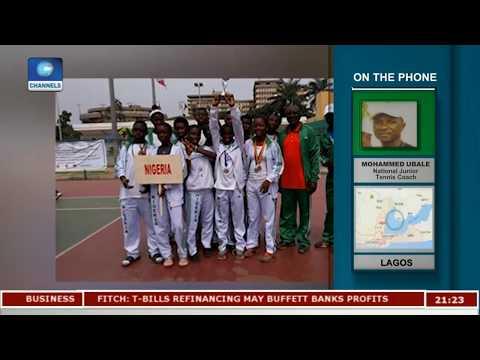 Junior Tennis In Nigeria | Sports Tonight |