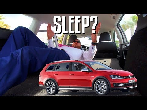 CAN U SLEEP IN THE REAR? 2018 Volkswagen Golf ALLTRACK SE, SEL, Premium | In Depth Review