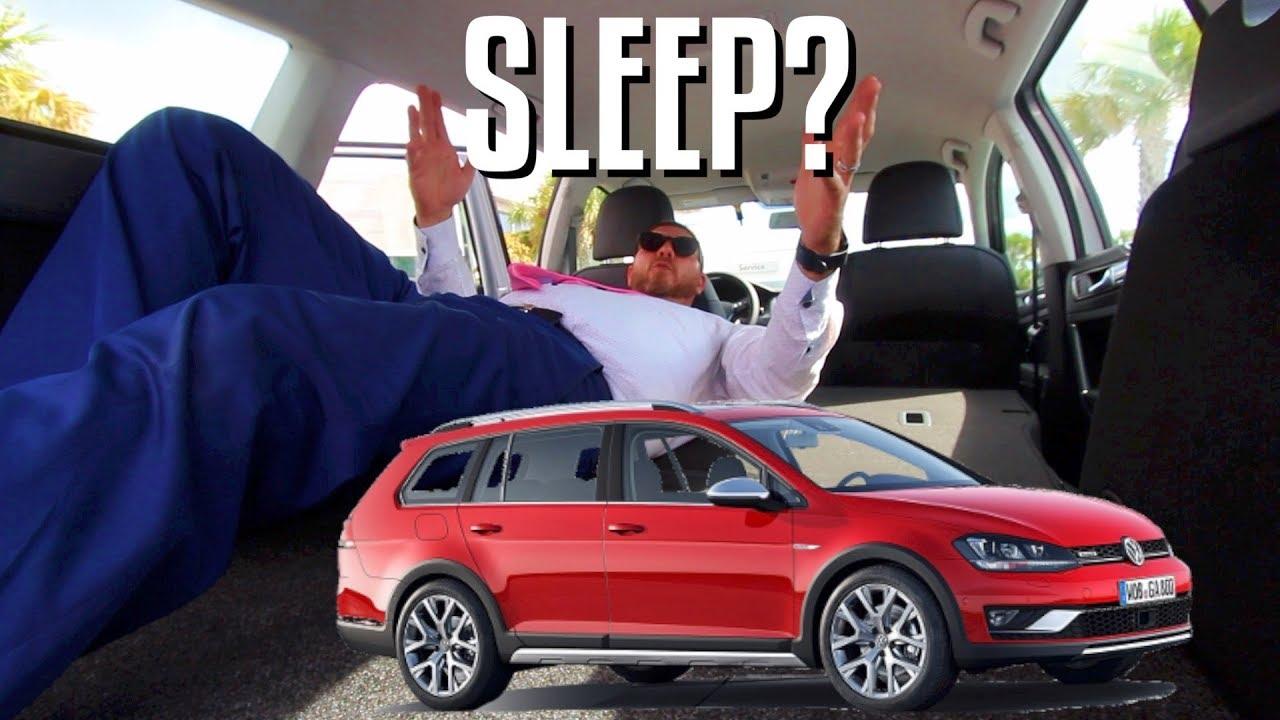 2017 Vw Jetta >> CAN U SLEEP IN THE REAR? 2018 Volkswagen Golf ALLTRACK SE ...