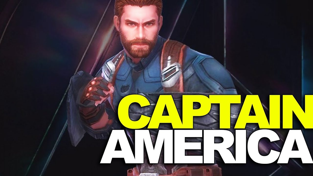 Marvel Avengers Infinity War Captain America Uniform Overview