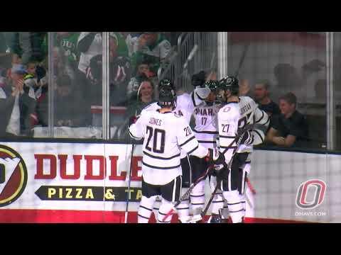 HIGHLIGHTS: Hockey vs. North Dakota, Game 1