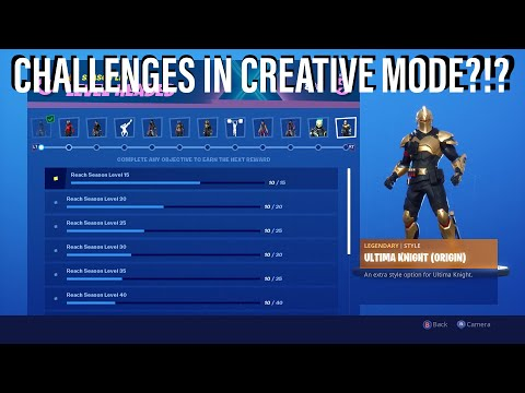Complete CHALLENGES In *CREATIVE*?!? | 3 New Fortnite Glitches For Season X