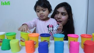 Play Doh show for learning colors with Radia