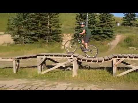 Calgary Olympic Park Mountain Bike Trails!