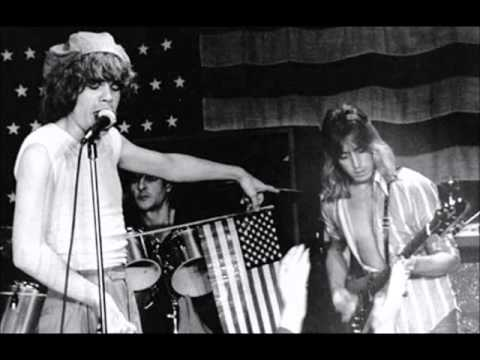 New York Dolls with Mick Ronson at Max's July 4, 1976