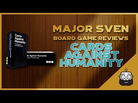 Major Sven Reviews Cards Against Humanity (Board Game)