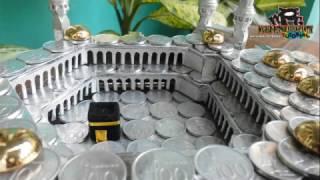 (Belum Pernah Diungkap!) Cara Mudah Membuat Pilar-Pilar Pintu Rumit Mahar 3D Koin Masjdil Haram