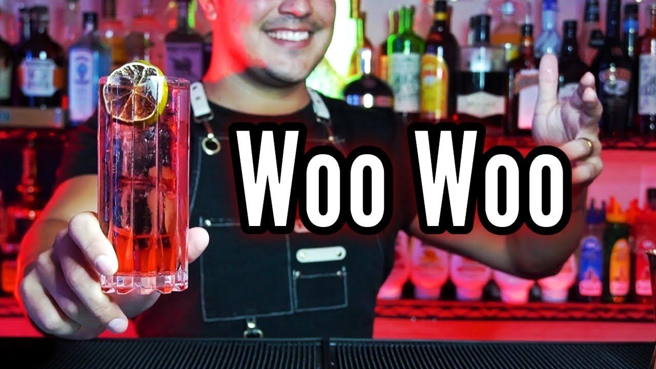 Cocktail WOO WOO ! #short DELICIOSO tutorial!