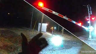 Illinois Cop Tackles Teen to Rescue Her From Oncoming Train