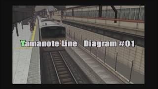 【電車でGo!Final】The Yamanote-Line Carnival,The Last Night:E231系内回り 大崎~大崎