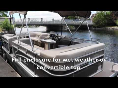 Pontoon Boat Rental In Ontario, Canada At Buckeye Surf In Bobcaygeon - Package#1
