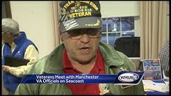 Veterans meet with Manchester VA officials on Seacoast