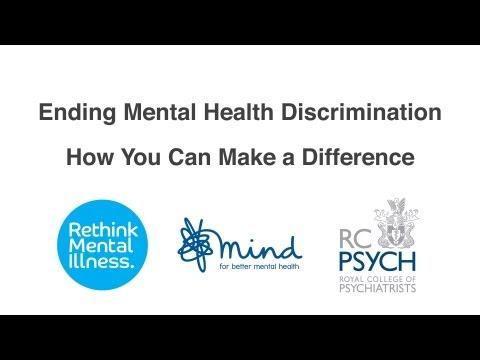 mental illness discrimination