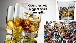 Consumo Alcohol en el Mundo / Alcohol Consuption in the World [IGEO.TV]