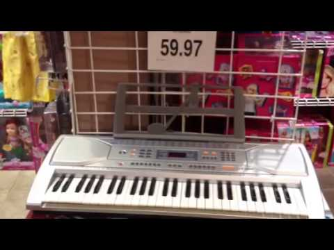 Keyboard Music in Toys'rus