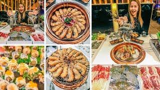 ត្រៀមដាក់មួយតឹងពោះទៅ! អ្នកទួលទំពូង ញ៉ាំ Lobster Buffet នោះអី