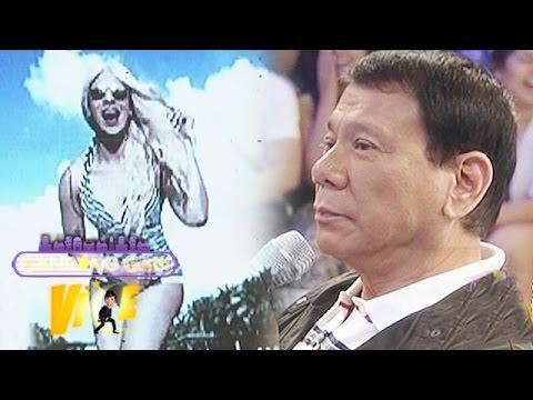 Mayor Duterte didn't recognize Vice in photos
