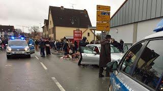 Autofahrer in Volkmarsen absichtlich in Rosenmontagszug gerast   hessenschau
