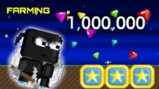 Growtopia - Farming to 1,000,000 GEMS!!
