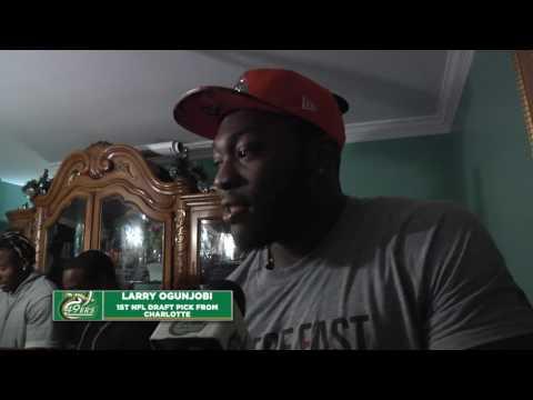 Larry Ogunjobi Becomes 1st Charlotte Football Player taken in NFL Draft