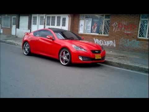 hyundai genesis coupe tuning bogota colombia youtube. Black Bedroom Furniture Sets. Home Design Ideas
