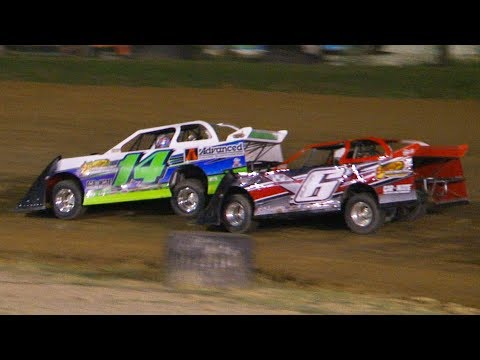 Super 6 Late Model Feature | Genesee Speedway | 8-10-19