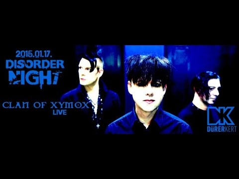 Clan of Xymox (NL) - Live at the Durer Kert, Budapest  January 17th, 2015