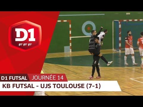J14 :  Kremlin Bicêtre Futsal - UJS Toulouse (7-1)
