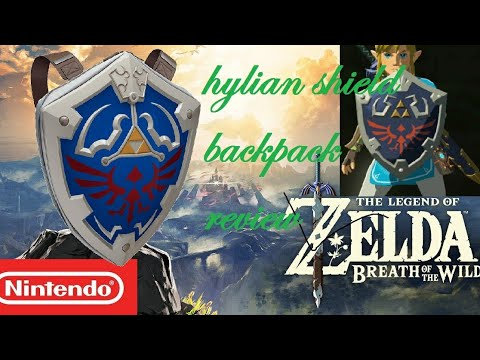 4d2fe84d6397 The Legend of Zelda - Breath of the Wild - Hylian Shield Backpack review