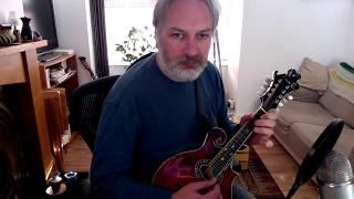 Old Man Dillon (jig) on mandolin