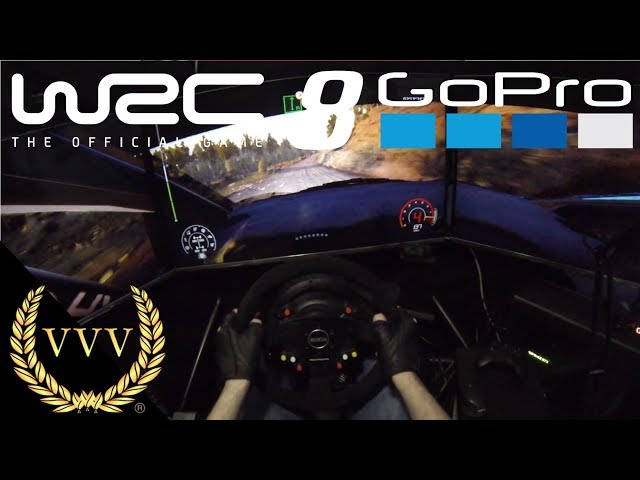 WRC 8 Gameplay - GoPro Chile, Evening Run