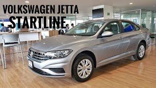 Volkswagen Jetta Startline - la versión más barata con motor de Virtus