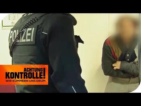 Spontan-Halluzinationen! Hat der Schwarzfahrer Drogen genommen? | Achtung Kontrolle | kabel eins