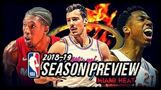 2018-19 NBA Season Preview: Miami Heat: Goran Dragic | Hassan Whiteside | Dwyane Wade?