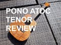 Got A Ukulele Reviews - Pono ATDC Tenor Ukulele