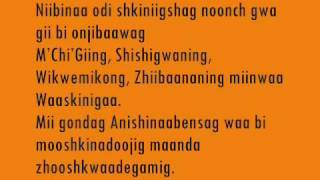 The Anishinaabe Language Leaves - Ojibway Language Story