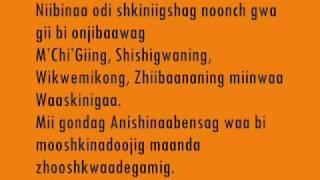 The Anishinaabe Language Leaves - Ojibway Language Story