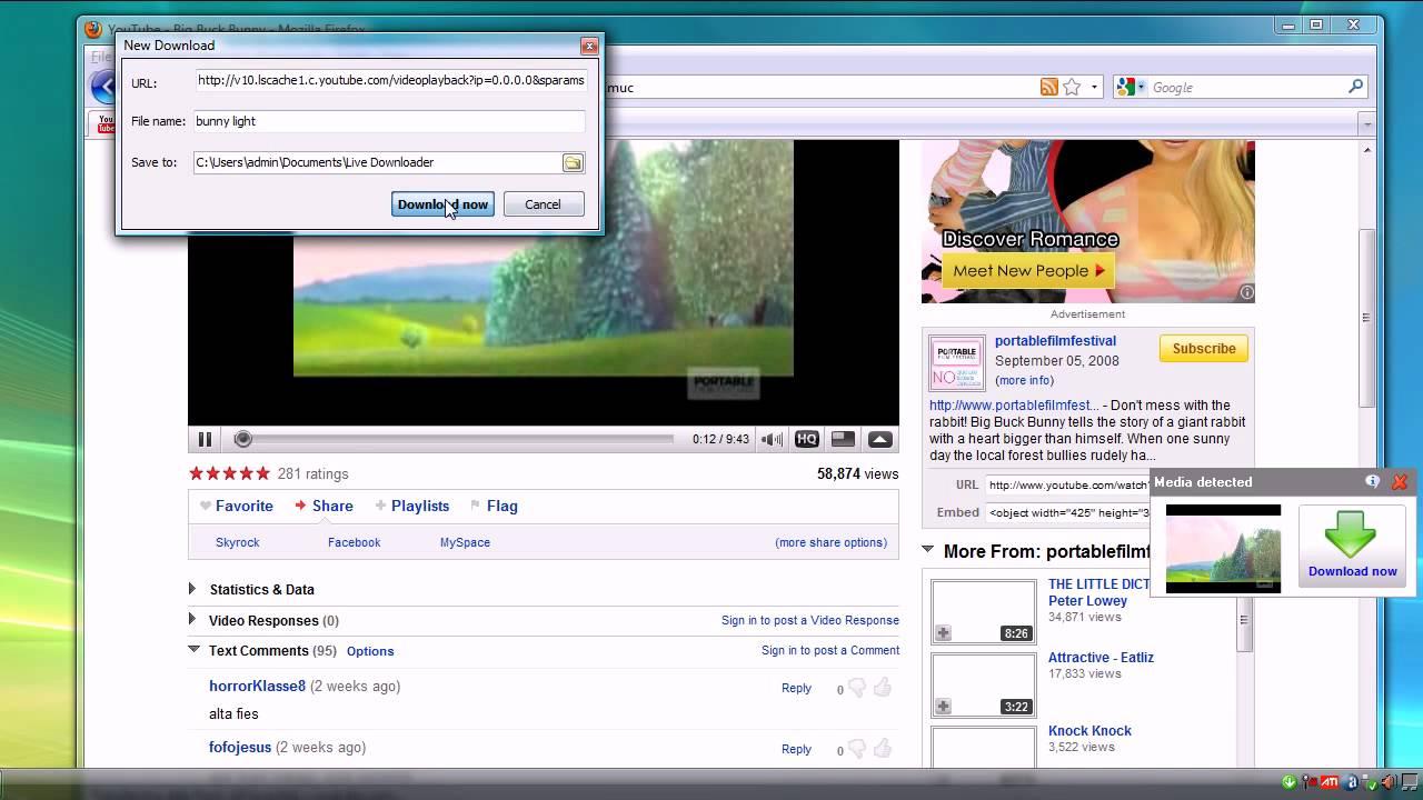 Download online video Free