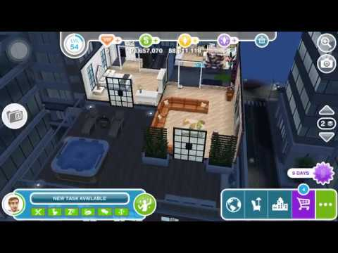 The Sims Freeplay - Penthouse [Latest Update]
