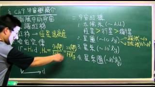基礎物理(一) Ch09 宇宙學簡介