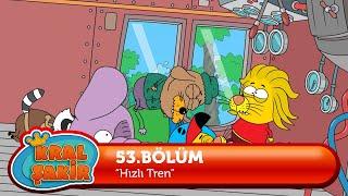 KRAL ŞAKİR: Hızlı Tren - 53. Bölüm (Çizgi Film)
