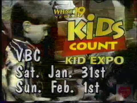 Kids Count Kid Expo | Television Commercial | 1997 | WHNT 19 Huntsville  Alabama VBC
