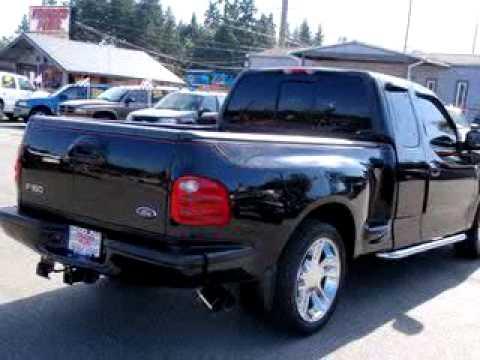 Sold 2000 Ford F 150 Flareside Harl 98204 Trucks Plus
