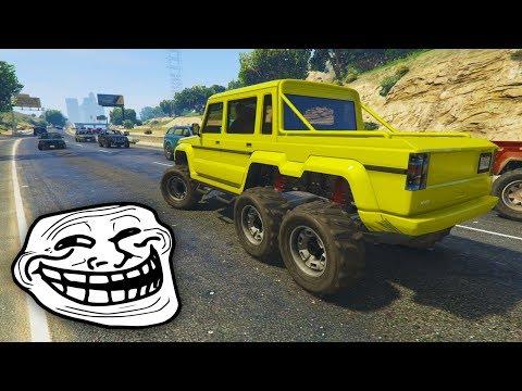 CARRERA TROLL!! FINAL INCREIBLE! - CARRERA GTA V ONLINE - GTA 5 ONLINE